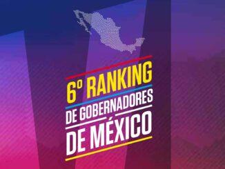 SEXTO RANKING DE GOBERNADORES